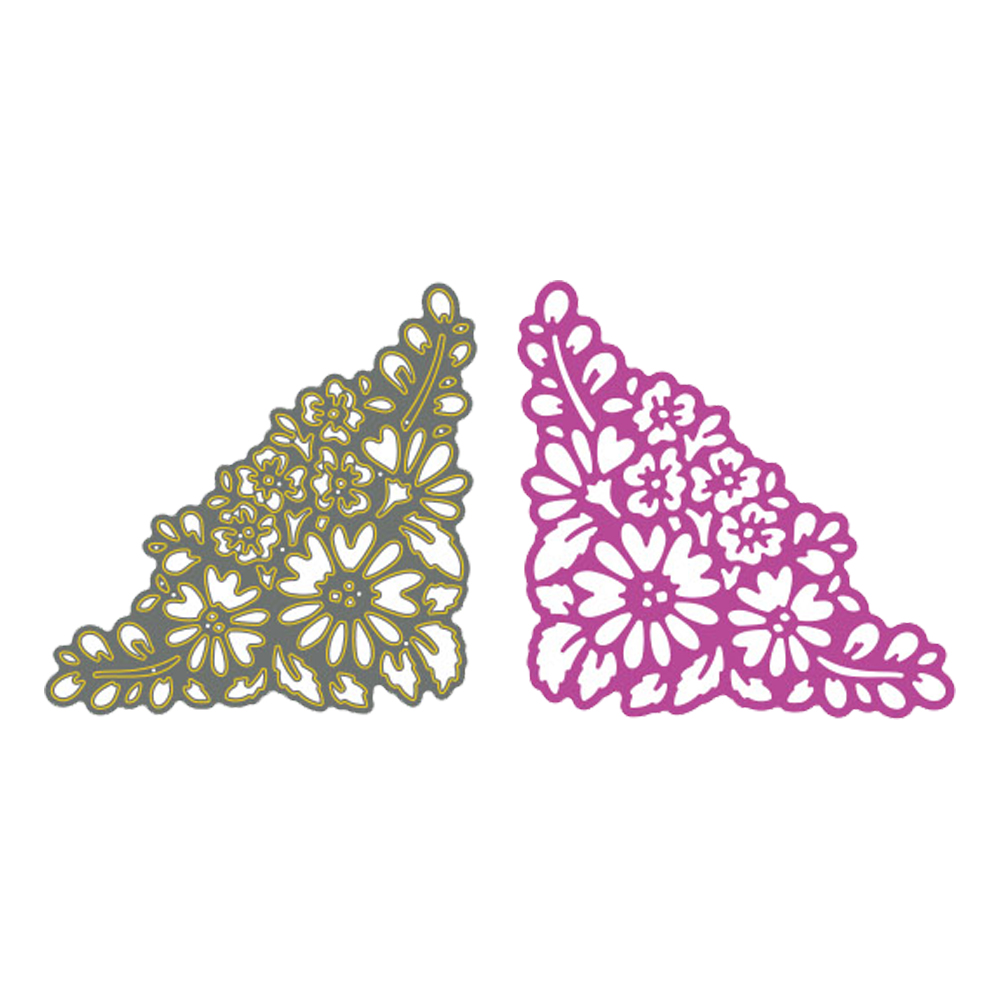 Hearty 87x87mm Lace Frame Christmas Dies Metal Cutting Dies New 2018 Scrapbooking Dies Metal Die Cuts Background For Gift Aromatic Flavor Scrapbooking & Stamping Arts,crafts & Sewing