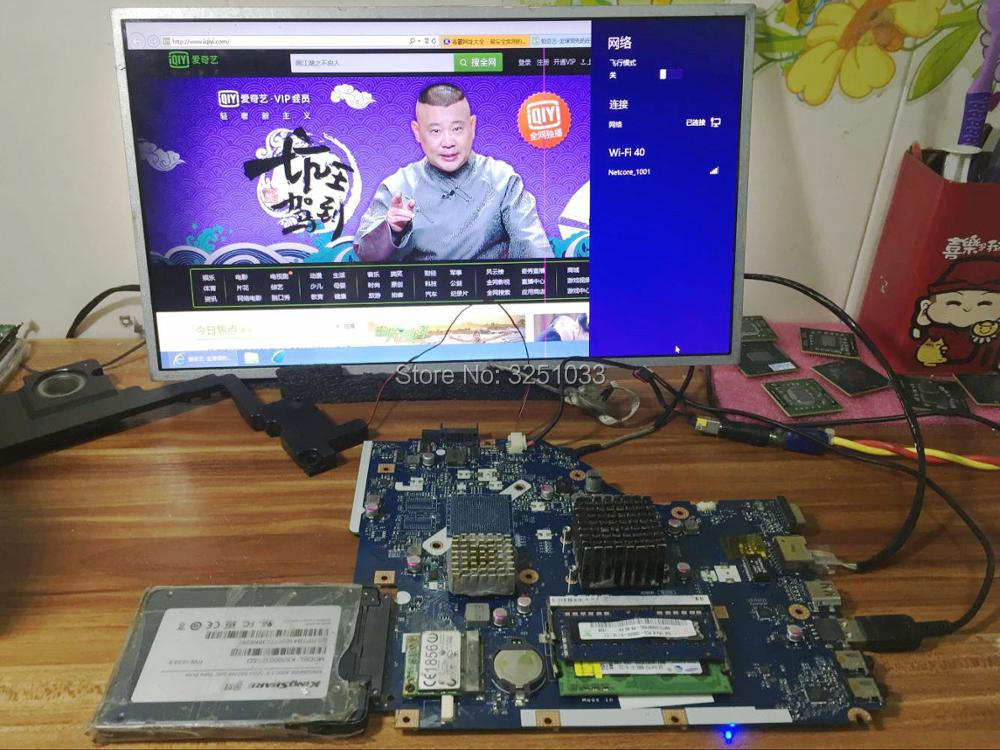 Image 5 - LA 7092P for Acer 5253 5250 NOTEBOOK P5WE6 LA 7092P for Acer Aspire 5253 5250 Laptop Motherboard MBNCV02001 test 100% work-in Laptop Motherboard from Computer & Office on