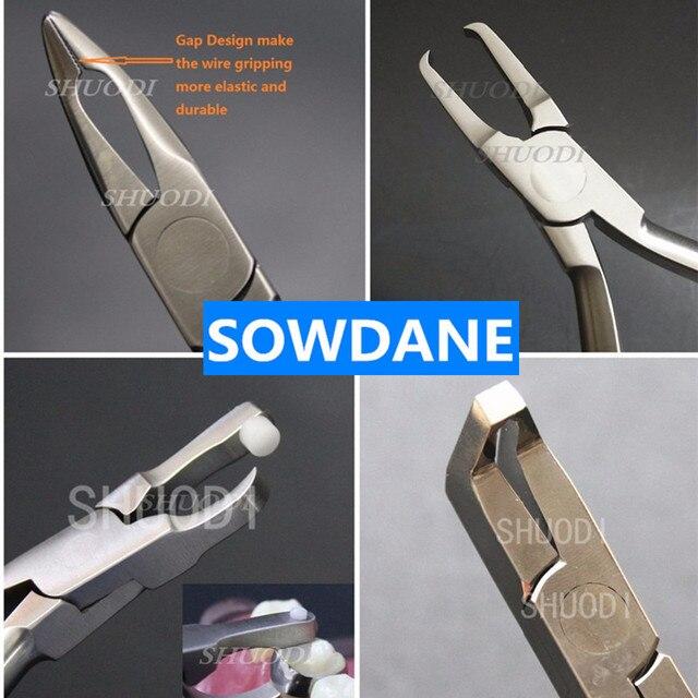 1 pieza de banda de ortodoncia Dental removedor de abrazadera, herramienta de instrumento de alicates de alambre Weingart