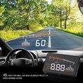 X5 Авто Спидометр Hud Head Up Display OBDII Интерфейс Автомобиля Детектор Над Скоростью Предупреждение LED Лобовое Стекло Проектор Сигнализации