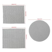 BBQ Mesh Grill Mat Non-Stick Heat Resistant Roasting Cooking Pad Barbecue Tools fine cooking roasting