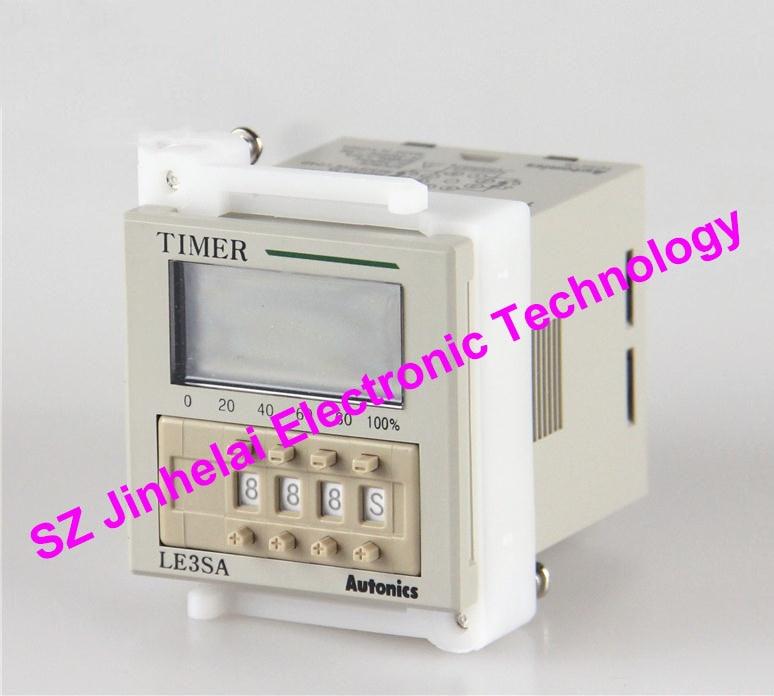 Nouveau et original LE3SA Autonics relais de temps 24-240VAC 24-240VDCNouveau et original LE3SA Autonics relais de temps 24-240VAC 24-240VDC