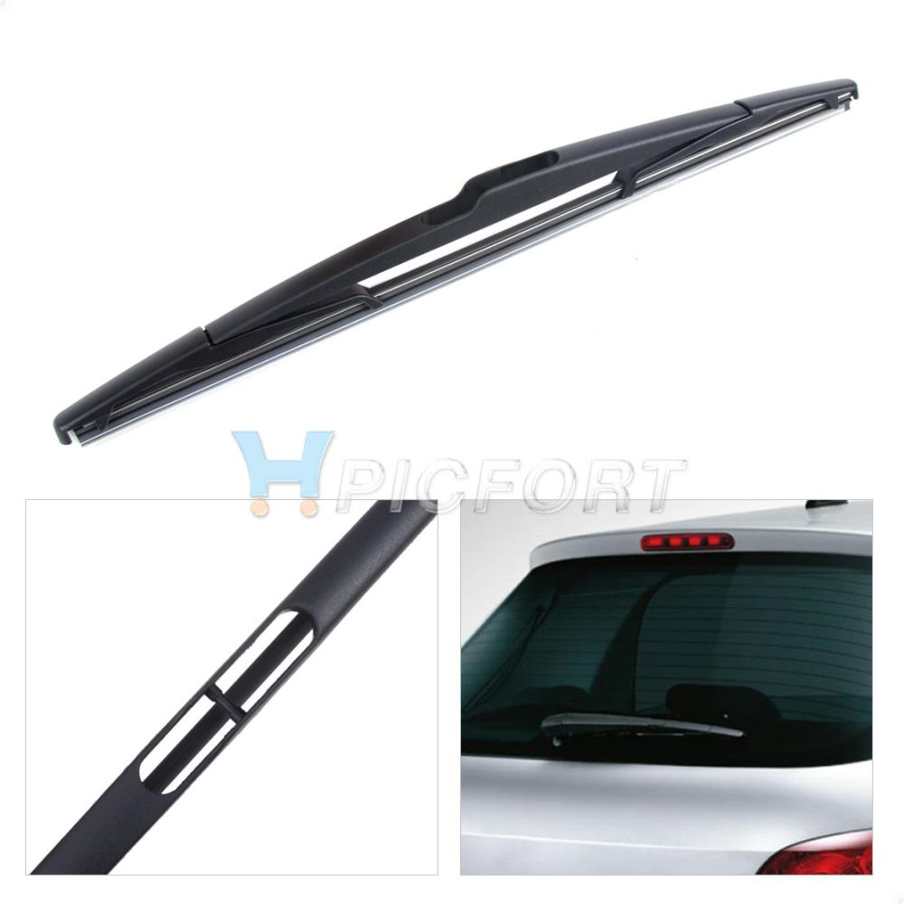 CITALL New Rear Window Windshield Wiper Blade For Peugeot 307 Citroen C3 Hatch For Ford Renault Laguna MK2 estate Megane Scenic