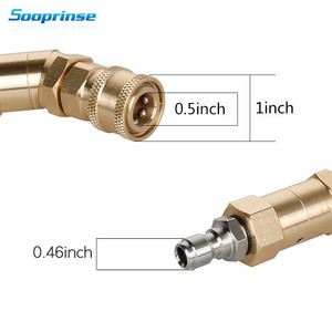Image 5 - Car Washer Nozzle Tips Multiple Degrees,1/4 inch Quick Connector 5 Packs 3.0 GPM Pivoting Coupler and 7 Spray Nozzle Tips