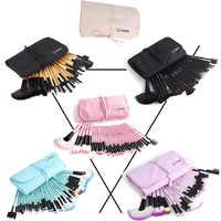 Vander 32 pièces pinceaux de maquillage ombres à paupières rouge à lèvres poudre pinceaux de fond de teint avec sac cosmétique pincel Kits de pinceaux de maquillage