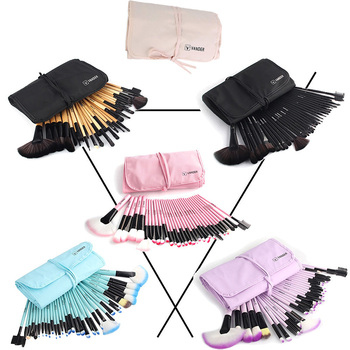 Vander 32Pcs Makeup Brushes Eye Shadows Lipstick Powder Foundation Brushes With Cosmetic Bag pincel Make Up Brushes Kits