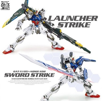 ФОТО Toy Spot / LTZ models /Dragon MOMOKO / MG 1: 100 / Strike Gundam / launcher strike/7 inch Assembled with high quality