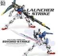 Toy Spot / LTZ models /Dragon MOMOKO / MG 1: 100 / Strike Gundam / launcher strike/7 inch Assembled with high quality