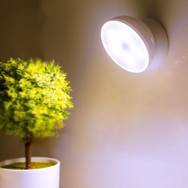 Modern 0 5W 360 Degrees Rotation Human Motion Sensor LED Night Light Lamp for indoor surroundings Modern - Model Of motion detector lights indoor Elegant