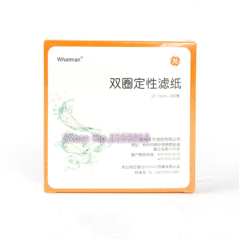 5 packs total 500pcs whatman filter paper diameter 11cm qualitative