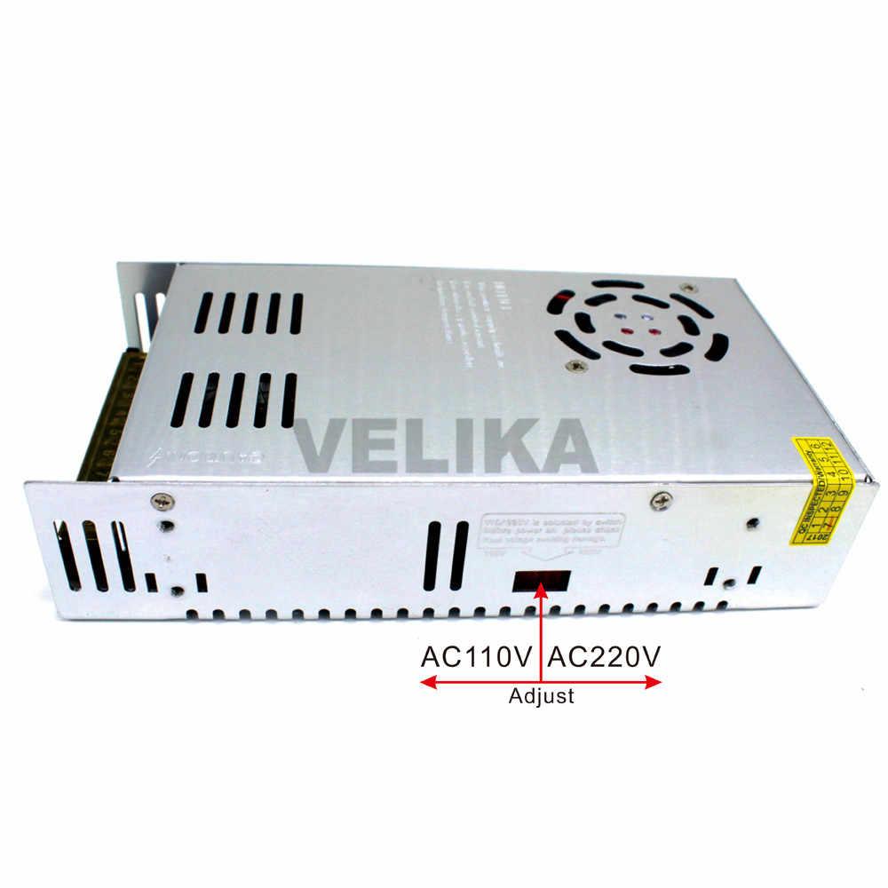 Одиночный Outpu 60V DC источник питания 10A 600W трансформаторы AC110V 220V к DC60V блоки питания SmpS для ЧПУ CCTV 3d принтер