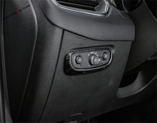 Yimaautotrims Front Head Lights Switches Button Frame Cover Trim Fit For Chevrolet Equinox 2017 2018 2019 ABS Interior Mouldings lapetus front head lights headlamp switches button frame cover trim abs fit for hyundai kona 2018 2019 accessories interior