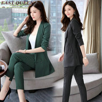 Womens Business Suits Spring 2017 Suit Fashion Pant Suits Women Casual Office Work Wear Sets Uniform