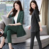 Frauen anzüge Frühjahr 2017 Anzug Fashion Pant Anzüge Frauen Casual Büro Arbeitskleidung Sets Uniform Styles Elegante Hose DD047 C