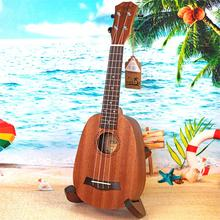цена на 21 inch Soprano Pineapple Bucket Ukelele 4 Strings ukulele Sapele uku guita acoustic small guitar uke Concert