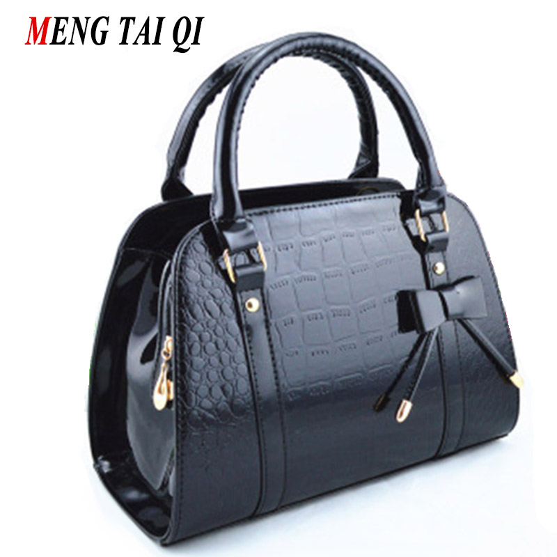 Designer Bags Famous Brand Women Bags 2017 Messenger Shoulder Bag Women Leather Handbags Black Hot Sale