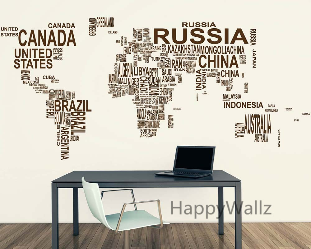 World Map Wall Last 2