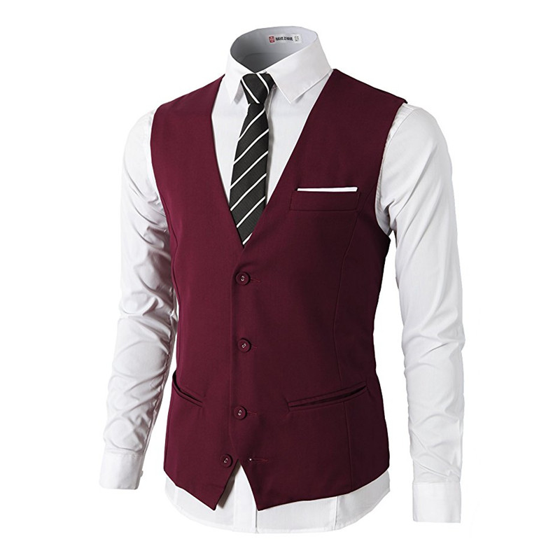 Umile Custom Made Slim Fit Business Suit Vestito Convenzionale Premium 4 Gilet Button-prova Di Pelle Scamosciata Con Tasca Gilet Da Uomo Le Materie Prime Sono Disponibili Senza Restrizioni