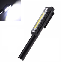 Mini Pen Work Light Cob Led Inspection Light Multi Function Hand Held Flashlight Outdoor Torch Lamp