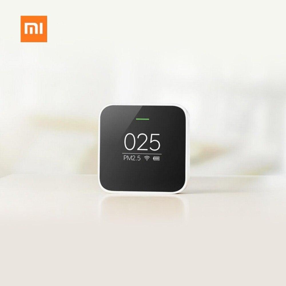 Xiao mi mi jia PM2.5 Détecteur Xiao mi Air Qualité Testeur Écran OLED Smart Smart Sensor Control APP Adapter mi purificateur d'air