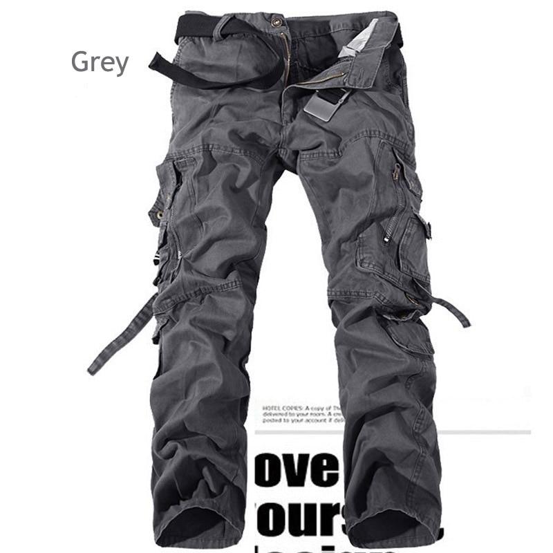 Poches Personnalisé Pantalon Cher Cargo Pas Hommes Multi Multicolore 8TvxWwqf