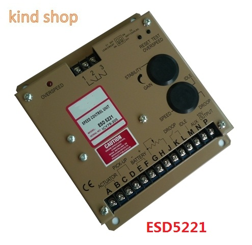 Diesel Generator Speed Control Unit ESD5221 ESD5221 gorvernor for alternator speed control module esd 5221 speed controller esd5221