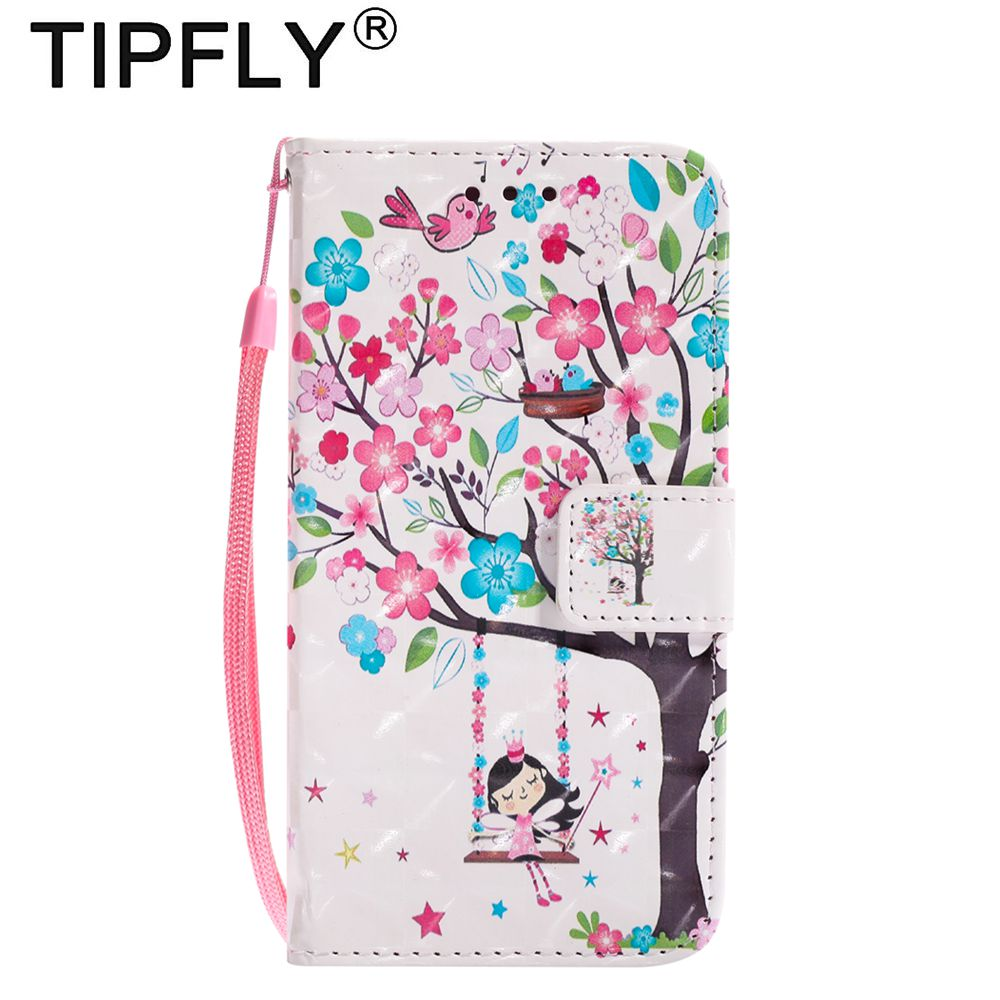 Tipfly телефон ETUI COQUE для Samsung Galaxy S5 S6 <font><b>S7</b></font> <font><b>Edge</b></font> Роскошный кожаный бумажник откидная крышка для Samsung S8 плюс корпус capinha