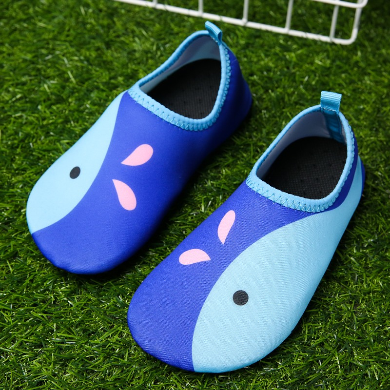 2018 Summer Children Light Outdoor Sneakers Cute balance Beach Water Shoes Yoga Swimming Soft Comfortable Seaside  Aqua 27-36