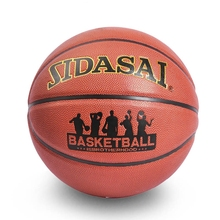 High quality PU Leather Basketball ball Size 7 Outdoor Indoor Sport Basket ball training High elasticity With net+bag+gas needle