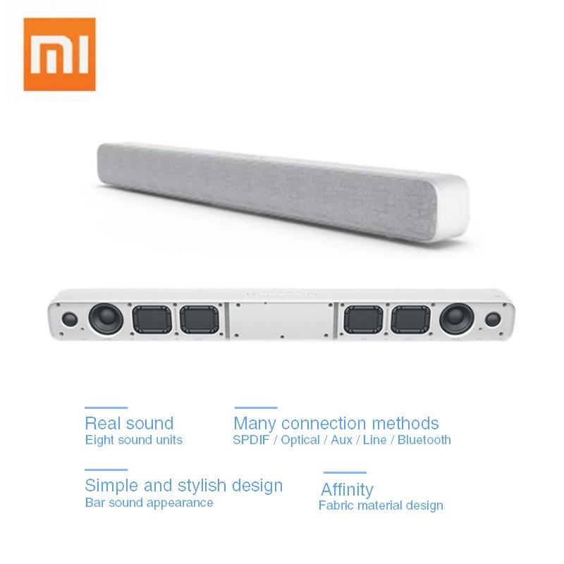 US $76 44 20% OFF Xiaomi Wireless Bluetooth Sound Bar Speaker Soundbar  Smart TV Audio Home Theater AUX SPDIF Optical Support Sony Samsung LG TV on