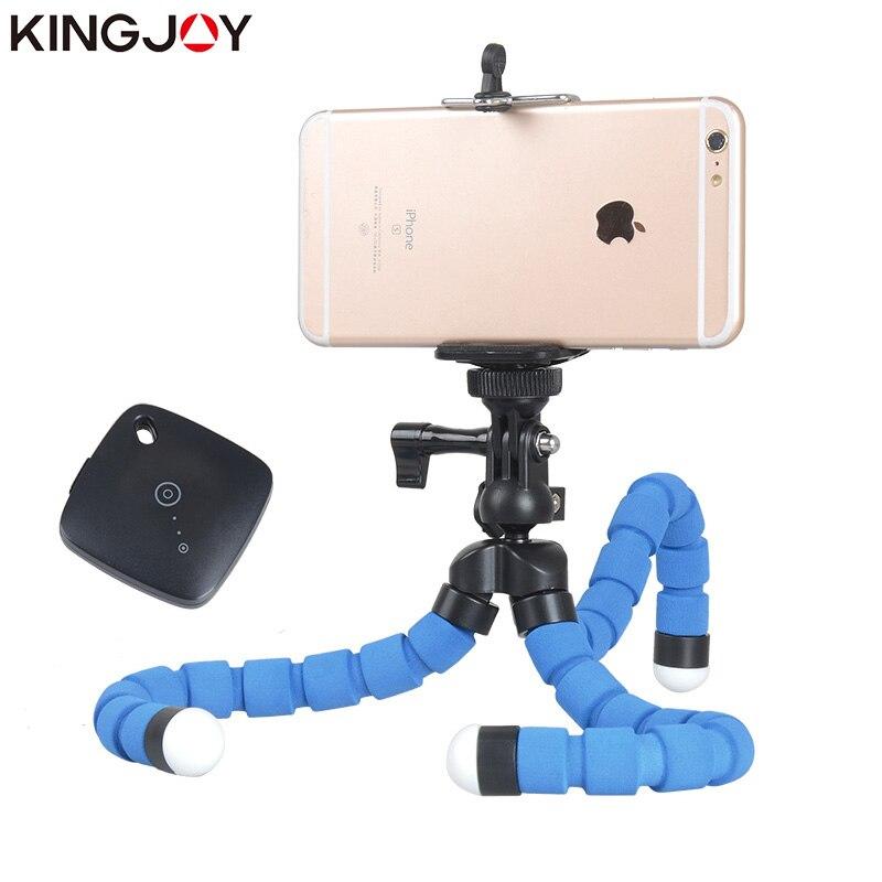 Kingjoy KT-600S Mini Trípode Pulpo Para Móvil Flexible Tripe - Cámara y foto - foto 5