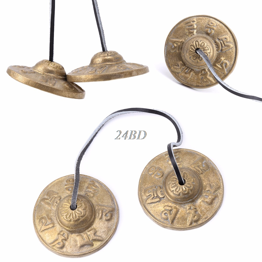 Percussion Instruments Rational Handcrafted Tibetan Meditation Tingsha Cymbal Bell With Buddhist Lucky Symbols A20 Aromatic Character And Agreeable Taste