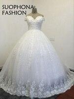 New Arrival Custom Made V Neck Cap Sleeve Wedding Dresses Detachable Train Mermaid Bridal Gowns Vestido