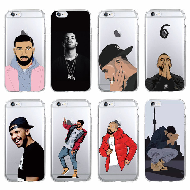 Drake Soft Phone Case For iPhone 7 7Plus 6 6S 6Plus 5 5S SE 5C SAMSUNG