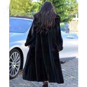 Image 5 - BFFUR Mới Thật Lông Áo Khoác Mùa Đông Nữ Cổ Bẻ Ngắn Dày Ấm Mùa Đông Nữ Áo Lông Chồn Thật Tự Nhiên áo Khoác Da Lót Lông 2020