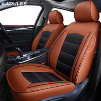 KADULEE custom real leather car seat cover for Lincoln MKZ car accessories seat covers full set leather car seat cover auto