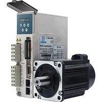 JMC 750W Absolute Servo 220V 1HP/3PH AC 20Bit encoder 80mm 2.39Nm 3000RPM 5000RPM 80 Motor Driver Kit For CNC lathe router Robot