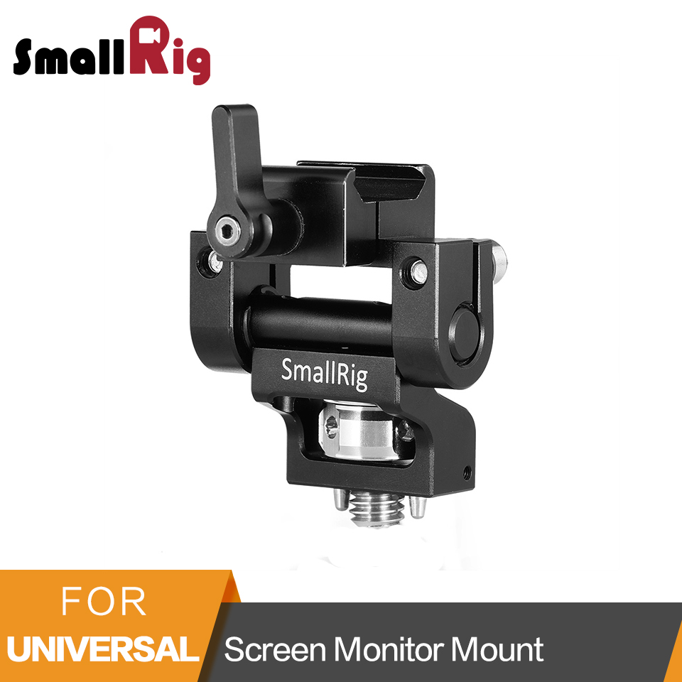 SmallRig Screen Monitor Mount with Nato Clamp and Arri Locating Pins For 5 or 7 Monitor