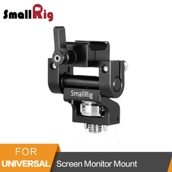 SmallRig Screen Monitor Mount with Nato Clamp and Arri Locating Pins For  5or 7 Monitor Cage EVF Mount - 2256