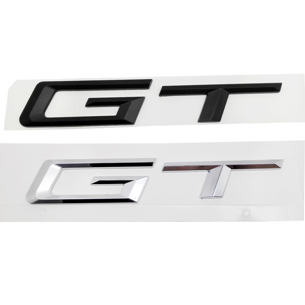For <font><b>BMW</b></font> Sticker Plastic Rear Boot Trunk Lid Letters <font><b>GT</b></font> Fit For <font><b>BMW</b></font> <font><b>3</b></font> 5 <font><b>Series</b></font> F30 F31 F34 E30 E36 E46 E90 E93 F10 E34 E39 E60 image