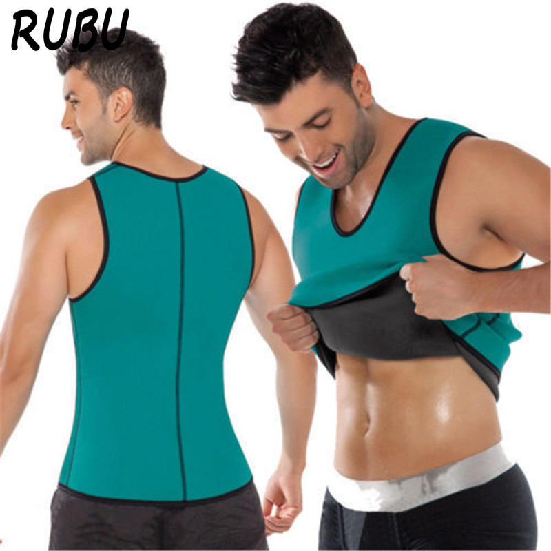 Neoprene Shaper Men Hot Shaper Underwear Strap Sweating Slimming Underwear Body Shaper Sportes Hot Shapers Tops 8AD-QR514