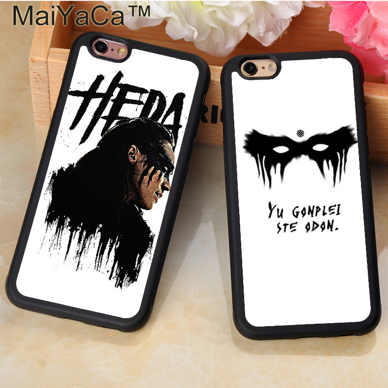 MaiYaCa HEDA LEXA The 100 TV Series TPU Case For iPhone 11 Pro Max 6S 7