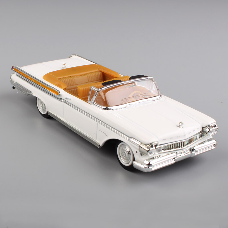 1/43 Scale Brand Small Ford 1957 Deluxe Mercury Turnpike Cruiser Metal Vehicle Metal Die Casting Models Toys Car For Collectible