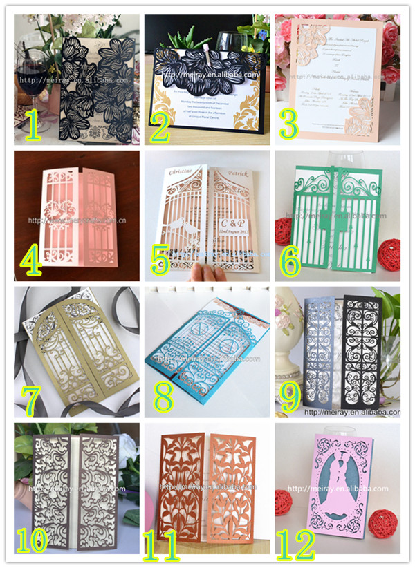 Online Buy Wholesale Wedding Cards Sample From China Wedding Cards