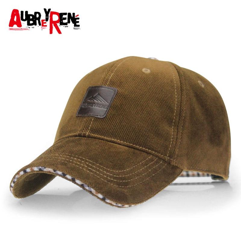 2f08d4a9f20  AUBREYRENE  2017 Winter Baseball Cap Fashion Hats for Men casquette polo 4  Colors for Choice Z-1937