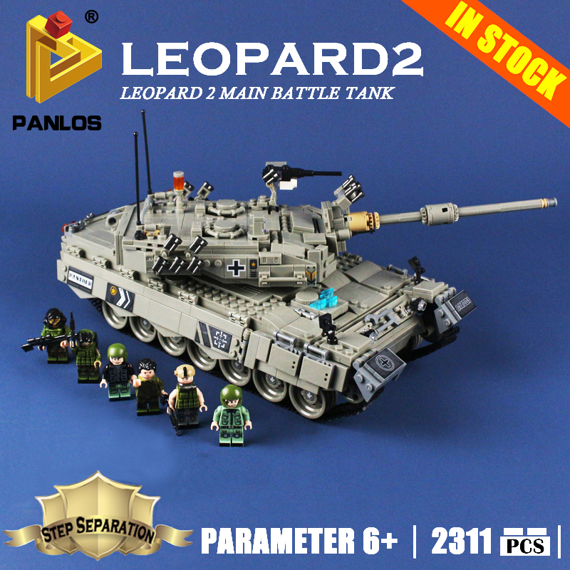 Compatible With lego Machine German Leopard 2 Main Battle Tank Model Building Toys hobbies Blocks Large Creative Education Brick white tank top with black rosettes leopard birthday cake with leopard ruffle page 4