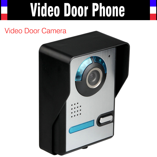 Video Door Phone Camera Intercom IR Night Vision RainProof ABS and PMMA Wall mounted Doorbell Camera the ivory white european super suction wall mounted gate unique smoke door