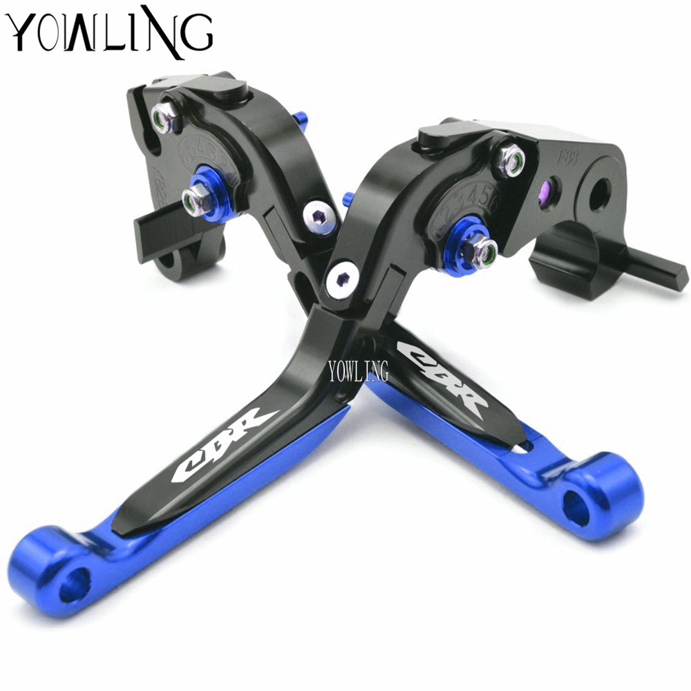 Motorcycle CNC Adjustable Extendable Brake Clutch Levers lever For honda CBR650F CBR 650F CB650F CB650 F 2014 2015 2016