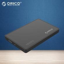 """ORICO 2588US-BK Portable USB2.0 2.5 """"Disque Dur Boîtiers Hdd pour Ordinateur Portable-Noir ((Non compris DISQUE DUR))"""