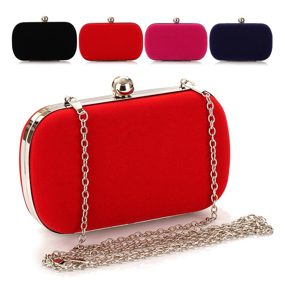 2017 Fashion Flannel Evening Bag Wedding Bride Clutch Luxury Handbags Women Bags Designer Handbag Female Wallet Bolsa Feminina